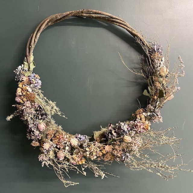 Example of a Christmas Wreath